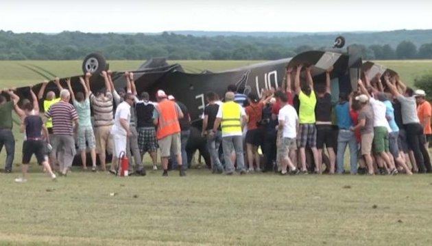 У Франції на авіашоу розбився винищувач, є постраждалі