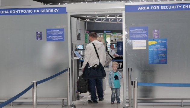 Almost 380 thousand Ukrainians used visa-free regime with the EU