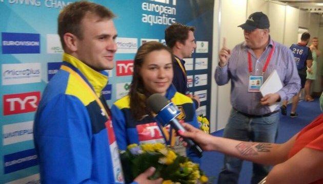 Чемпіонат Європи зі стрибків у воду: Україна виграє «срібло»!