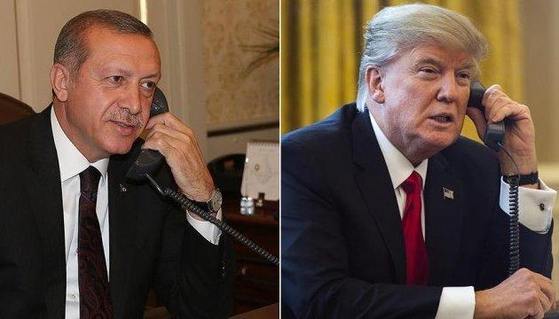Ердоган і Трамп обговорили сирійське питання