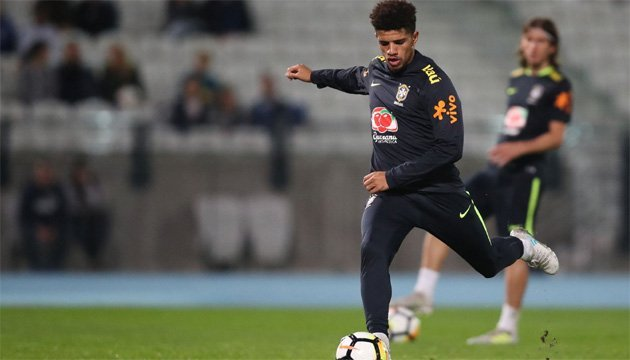 Тайсон отметился голом за сборную Бразилии