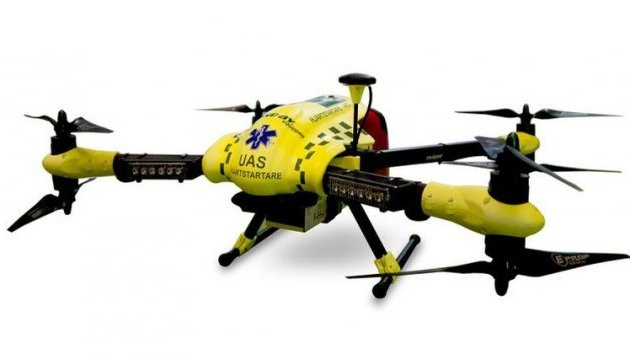 Летючий робот із дефібрилятором врятує від зупинки серця раніше за швидку