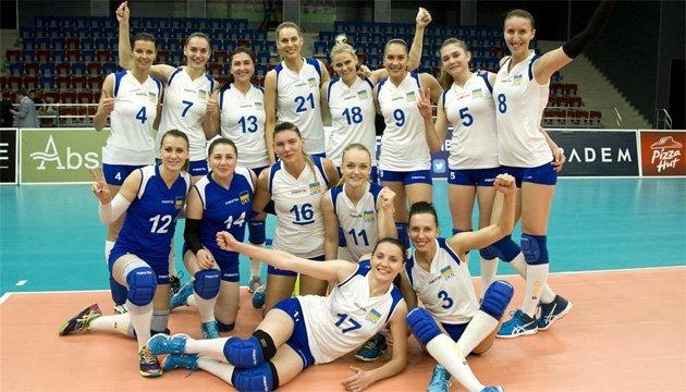 Евролига: украинские волейболистки отправились в Тбилиси