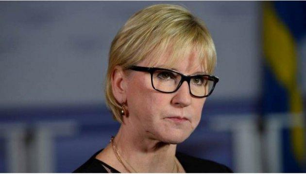 Глава МИД Швеции назвала лучший способ противодействия агрессии РФ