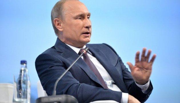 Путін заявив, що готовий зберегти транзит газу через Україну