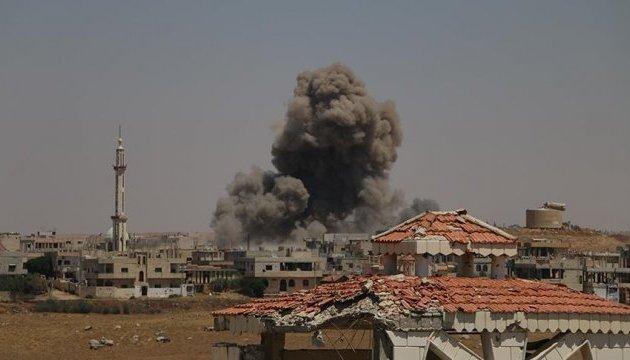 Авиация Асада сбросила кассетные бомбы в зоне деэскалации: есть погибшие