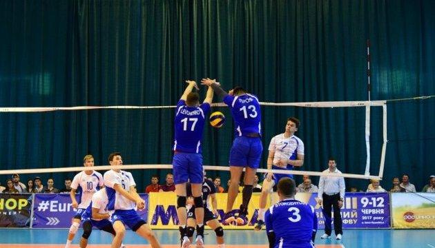 Українські волейболісти обіграли Ізраїль у матчі Євроліги