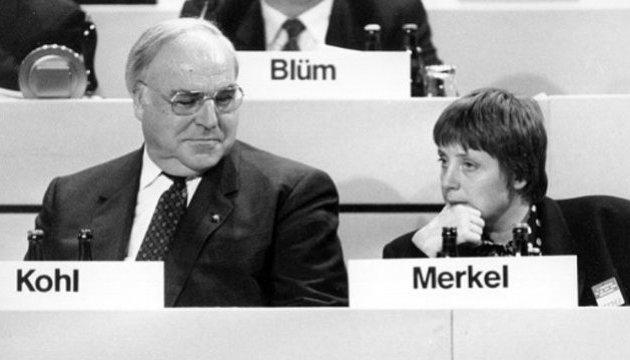 Меркель про Коля: пішов великий німець і великий європеєць
