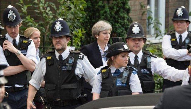 В Лондоне вспыхнули стихийные демонстрации