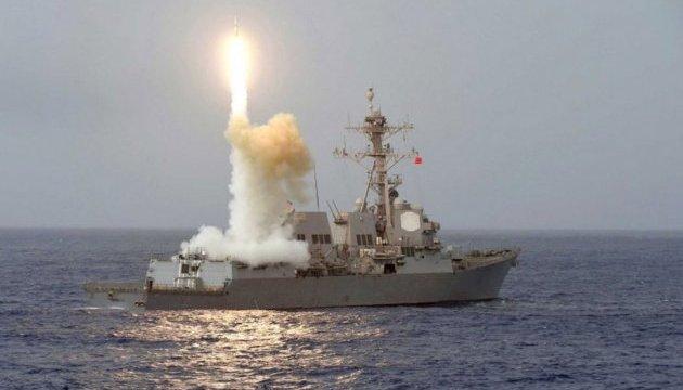 ВМС Украины провели совместные учения с эсминцем США в Черном море