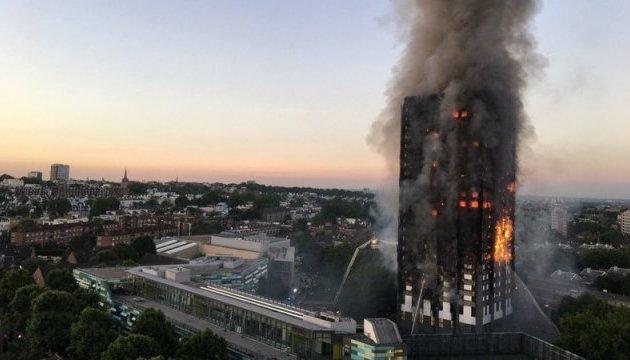 Пожар в Grenfell Tower: количество жертв увеличилось до 70