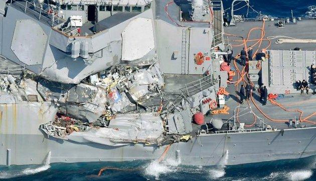 Наслідки інциденту з есмінцем США: капітан поранений, семеро моряків зникли безвісти