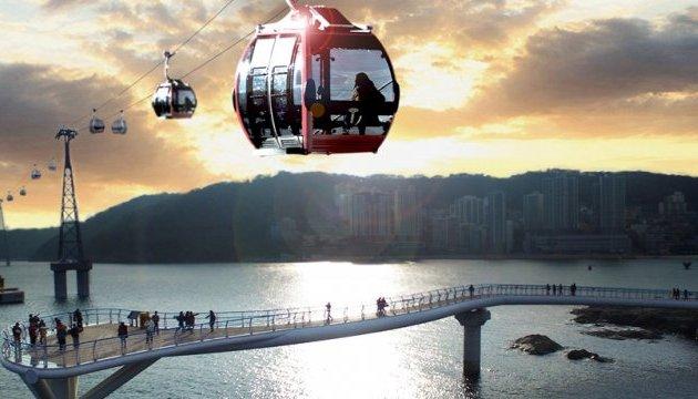У Кореї знову можна буде покататися на незвичній канатній дорозі
