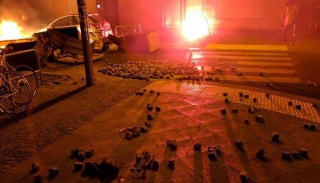 У Берліні знов заворушення на вулиці Рігер: поранили поліцейського
