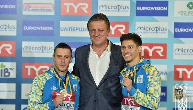 Кваша і Колодій здобули для України десяту медаль Євро-2017 зі стрибків у воду