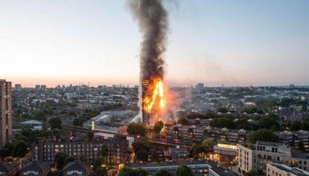 Пожар в Grenfell Tower: полиция назвала окончательное число жертв