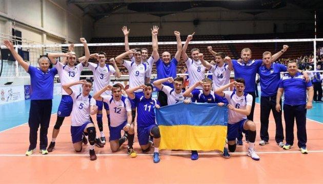 Волейбол: українці взяли реванш у данців у Євролізі і очолили групу