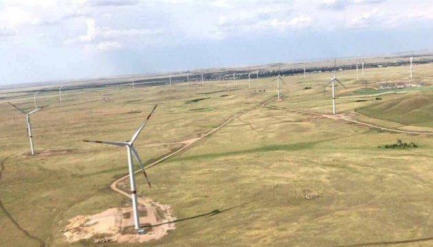 Савчук у Казахстані відвідав вітропарк з українськими установками