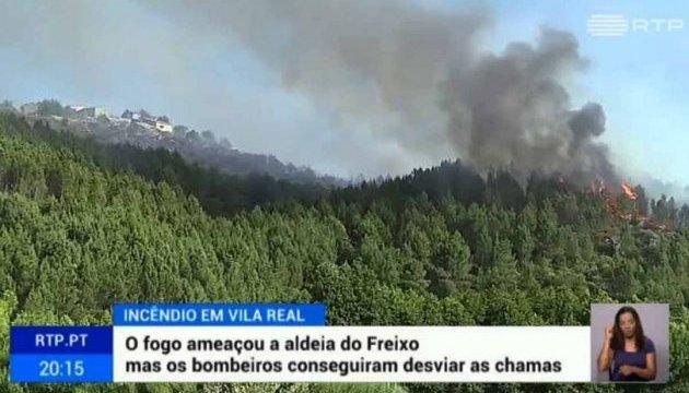 Лісова пожежа у Португалії забрала майже два десятки життів