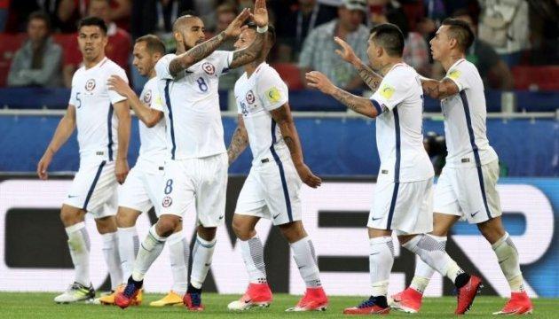 Кубок конфедерацій-2017: Чилі дотиснула Камерун