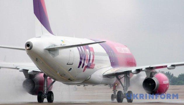 Рейс Киев - Лондон авиакомпании Wizz Air станет ежедневным