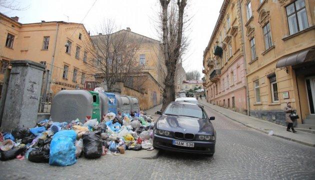 Львовские активисты начинают акцию по уборке мусора
