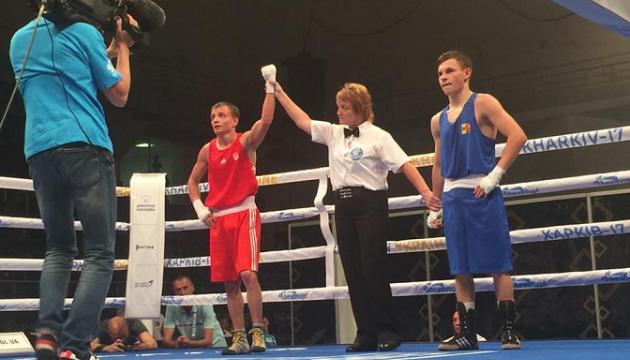 Чемпіонат Європи з боксу: Четверо українців вийшли у чвертьфінал
