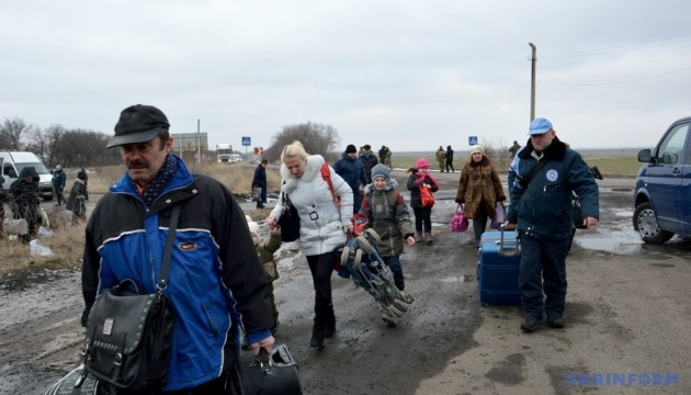 Over third of IDPs not planning to return to Donbas