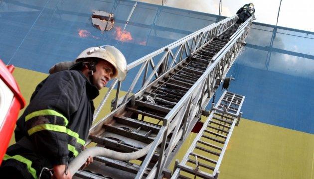 Полиция открыла уголовное дело о поджоге на Крещатике