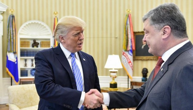 """Геращенко розповіла про """"особистий контакт"""", який Порошенко встановив із Трампом"""