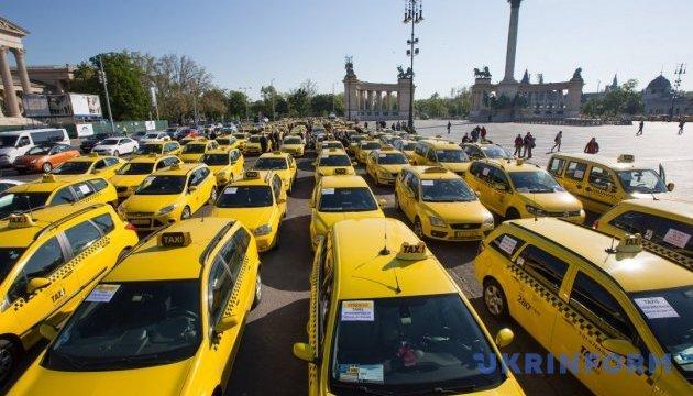 В канадском Квебеке протестовали водители такси