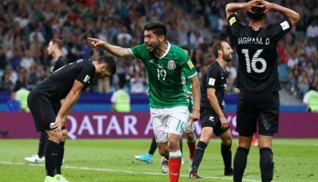 Кубок конфедераций-2017: Мексика с трудом победила Новую Зеландию