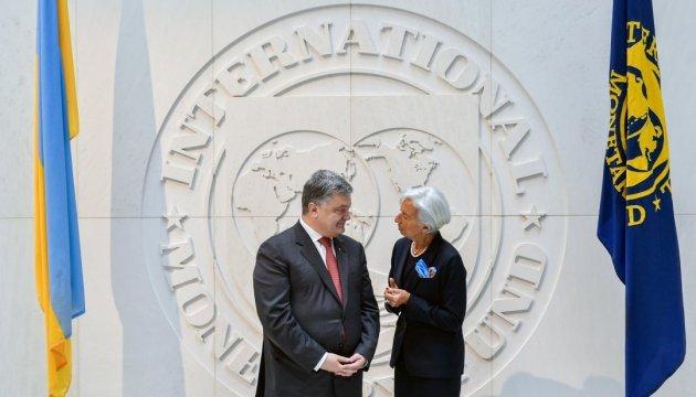 МВФ і Світовий банк націлені на підтримку України – Порошенко
