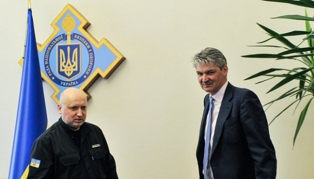 Ukraine's NSDC Secretary, UK's Permanent Secretary of ...