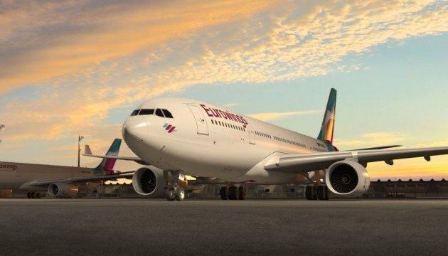 Лоукостер Eurowings почне літати з Києва до Берліна