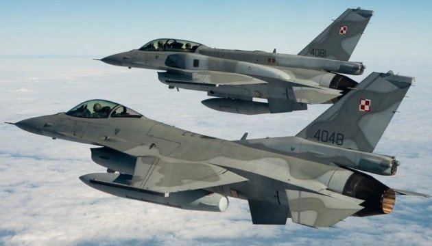 США перебросили в Европу эскадрилью истребителей