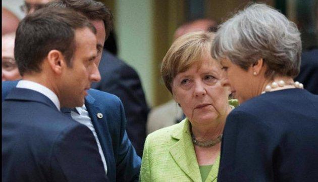 У Берліні відбувається зустріч лідерів країн ЄС-членів Великої Двадцятки