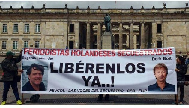 Боевики в Колумбии освободили похищенных журналистов