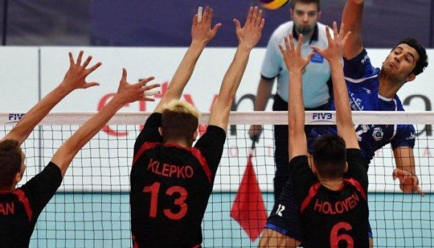 Украинские волейболисты проиграли Ирану на молодежном чемпионате мира