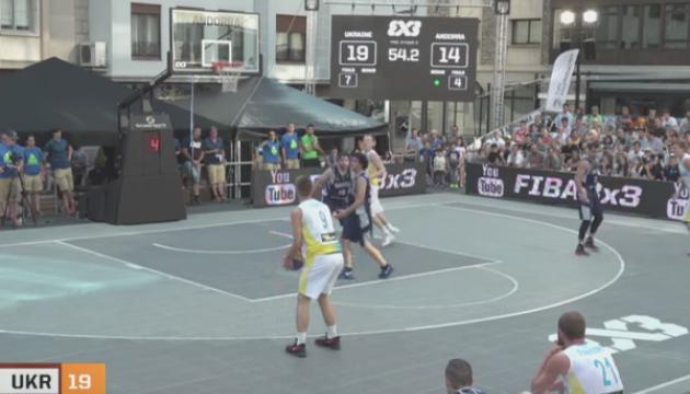 Баскетбол: збірна України (3х3) вийшла до 1/4 фіналу відбору на чемпіонат Європи