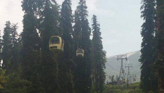 В Индии на канатной дороге оборвалась кабина - погибли семеро туристов