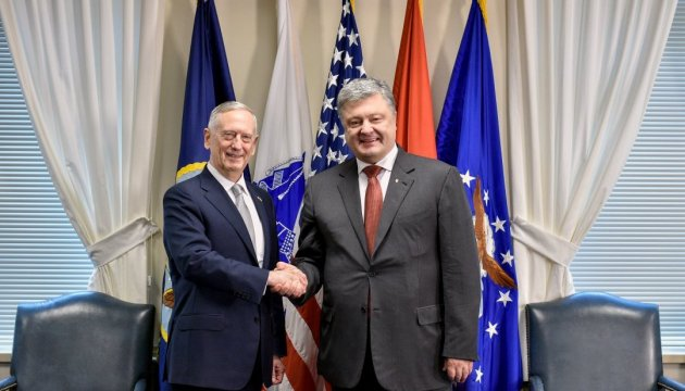 Poroshenko to meet with U.S. Secretary of Defense on Independence Day