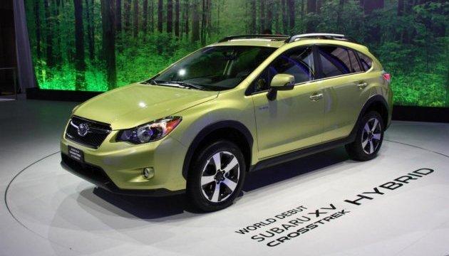 Subaru вироблятиме електрокари й гібридні модулі