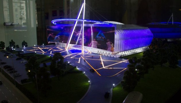 Кличко анонсував будівництво мультифункціональної спортивної арени у Києві
