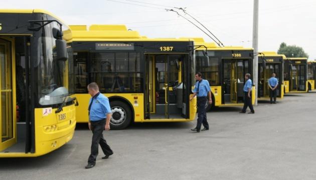 В Киеве одну ночь не будет ходить троллейбус, который соединяет центр и Беличи