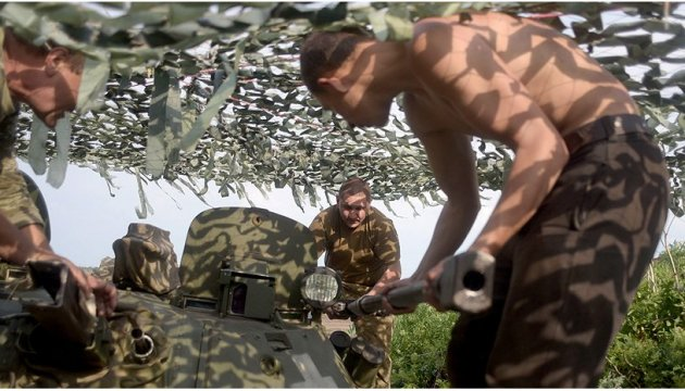 Militants launched 34 attacks on Ukrainian troops in Donbas in last day