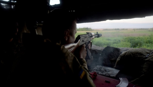 25 Angriffe des Feindes in der Ostukraine, ein Soldat getötet