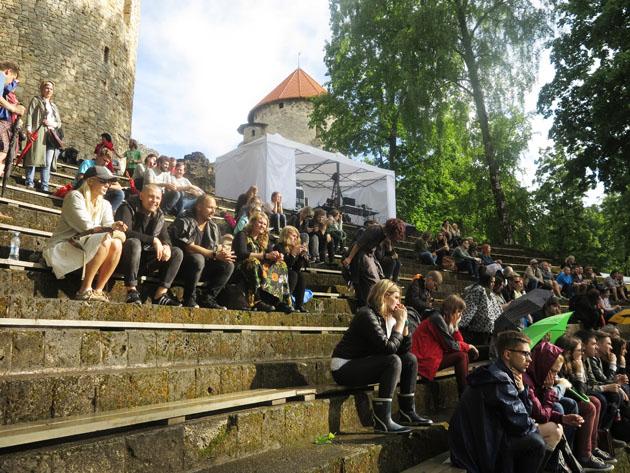 Фестиваль общения LAMPA приглашает (Цесисский замковый парк). 30 июня - 1 июля