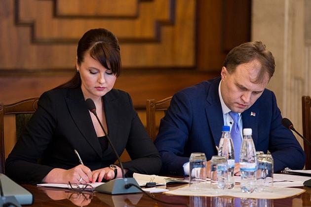 Нина Штански и Евгений Шевчук / Фото: http://rusplt.ru