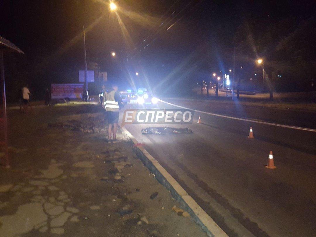 ВКиеве полицейский пострадал в потасовке после ДТП